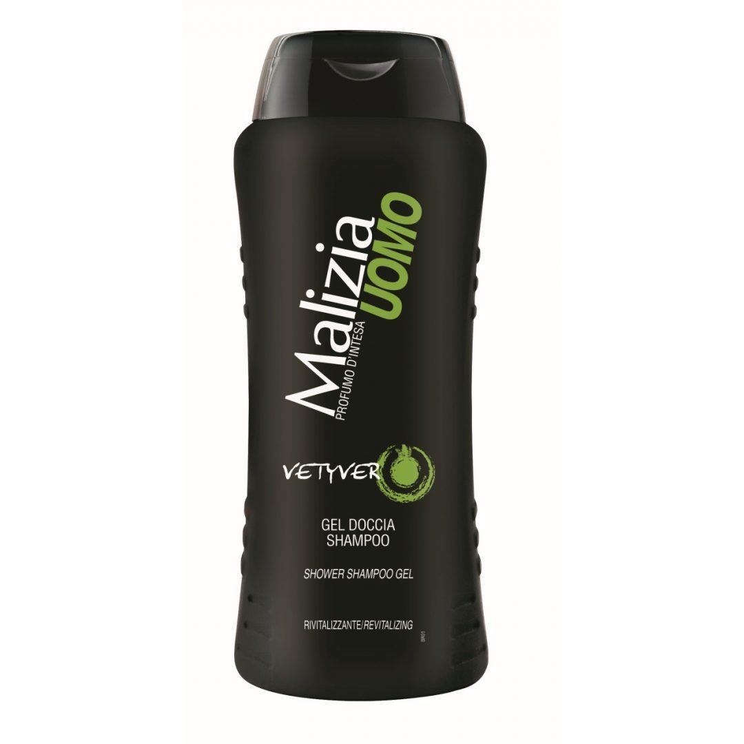 Malizia Shower Shampoo Gel Vetyver