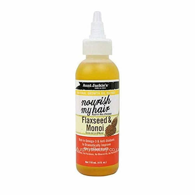 Aunt Jackie's Growth Oil Flaxseed & Monoi