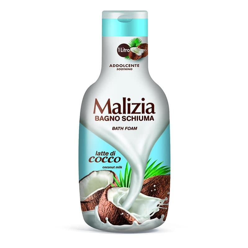 Malizia Bath Foam Coconut