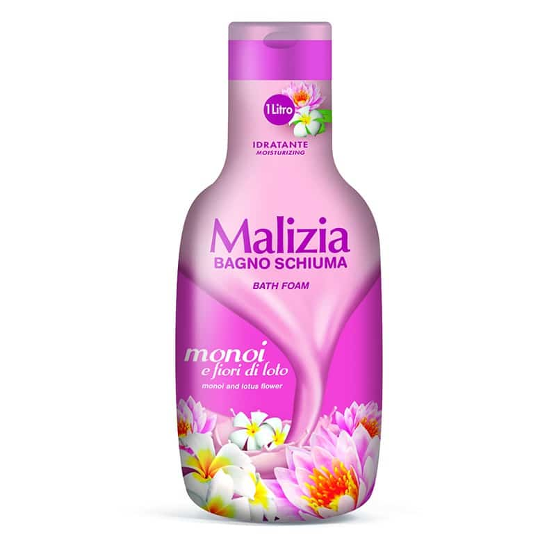 Malizia Bath Foam Monoi and Lotus 180641