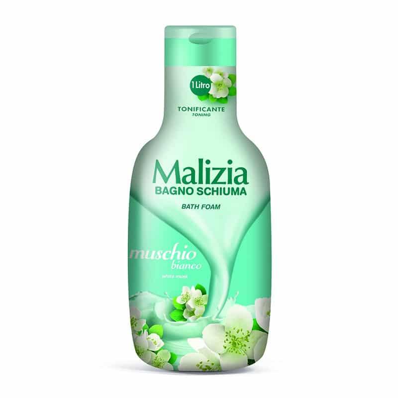 Malizia Bath Foam White Musk 180661 1000ml