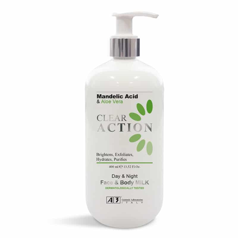 Clear Action Face and Body Milk CL10