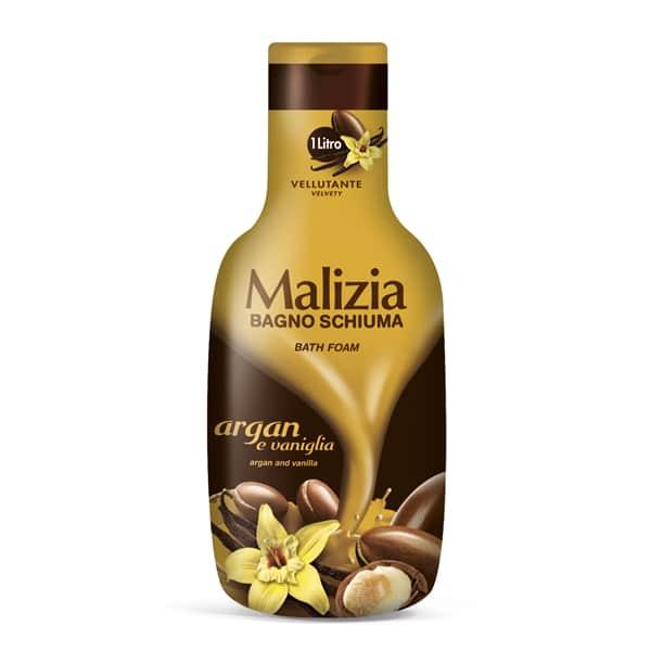 Malizia Bath Foam Argan and Vanilla