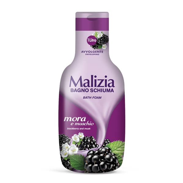 Malizia Bath Foam Blackberry and Musk