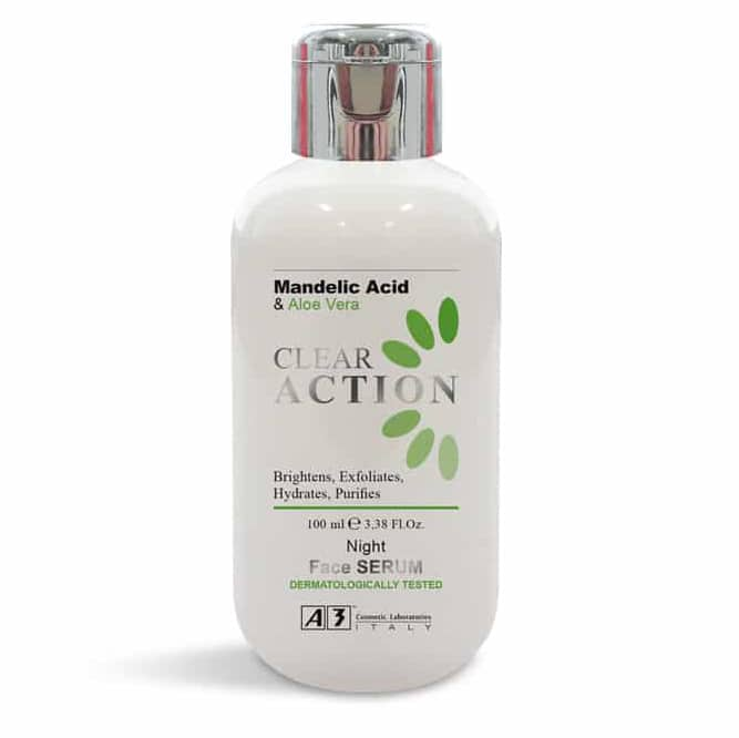 Clear Action Night Face Serum